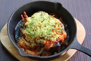 サバ缶とトマトのチーズ焼き